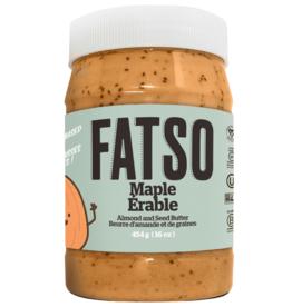 Fatso Fatso - Beurre d'Amandes, À L'Érable (454g)