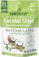 Rawcology Rawcology - Croustilles de Noix de Coco, Matcha Latté (70g)