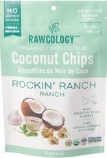 Rawcology Rawcology - Croustilles de Noix de Coco, Ranch (70g)
