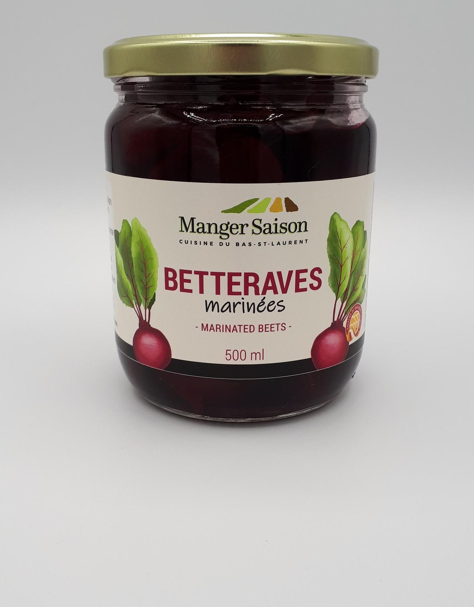 Manger Saison Manger Saison - Betteraves Marinées (500ml)