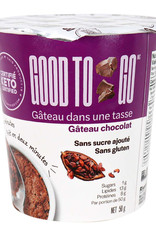Good To Go Good To Go - Gâteaux Instantanné, Chocolat (50g)