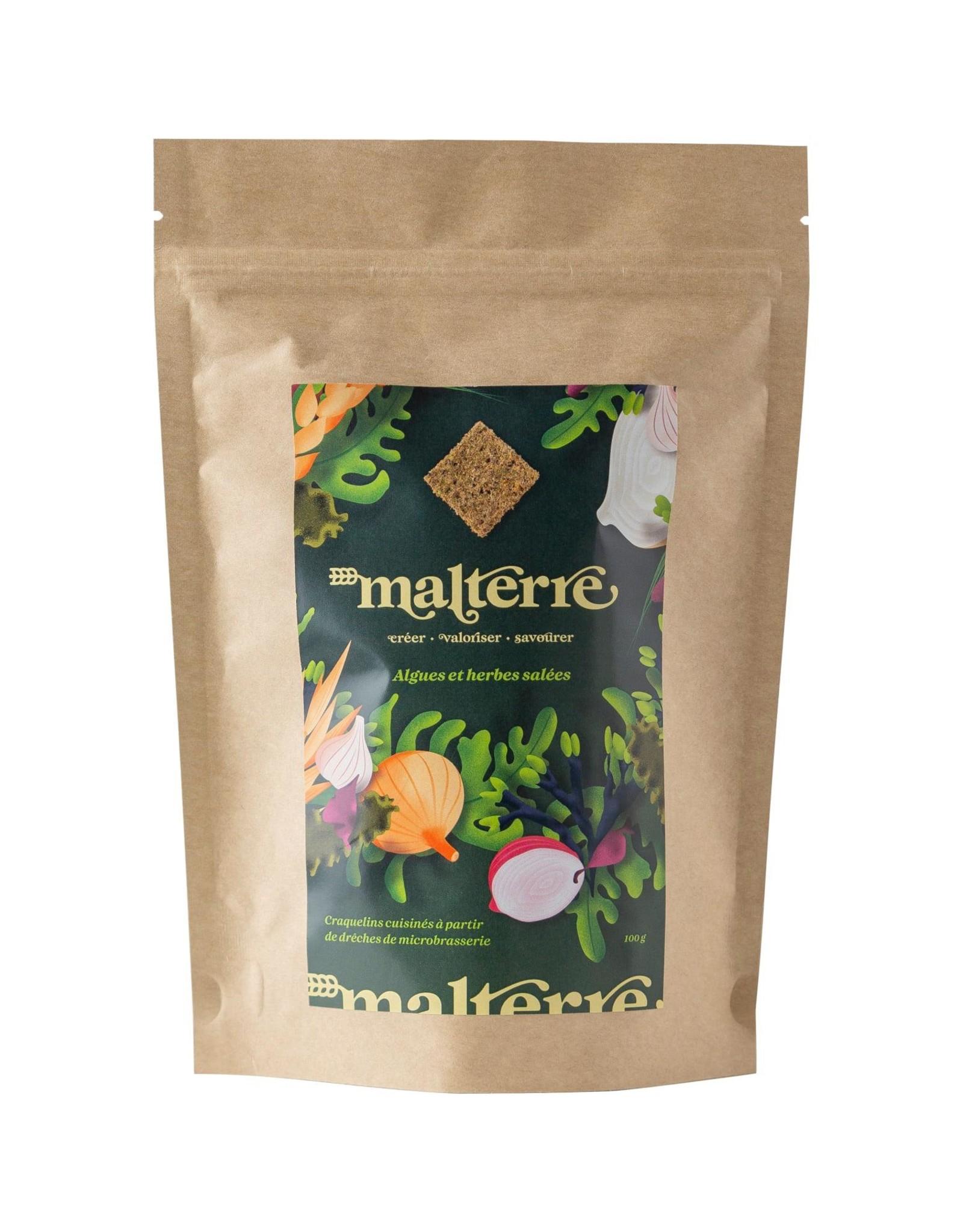 Malterre Malterre - Craquelins, Algues et Herbes Salées (100g)