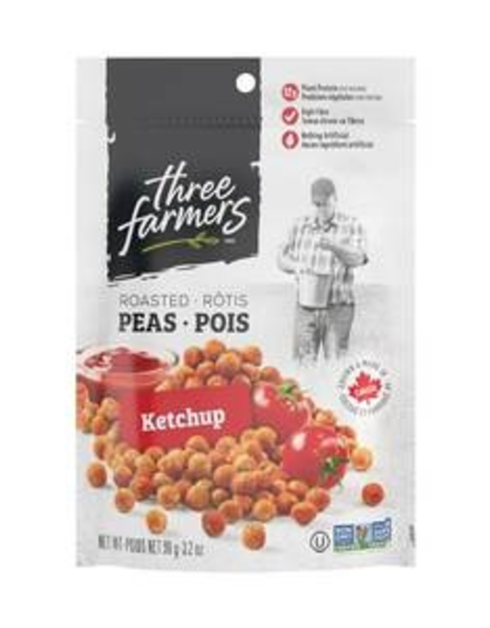 Three Farmers Three Farmers - Pois Rôtis, Ketchup (90g)