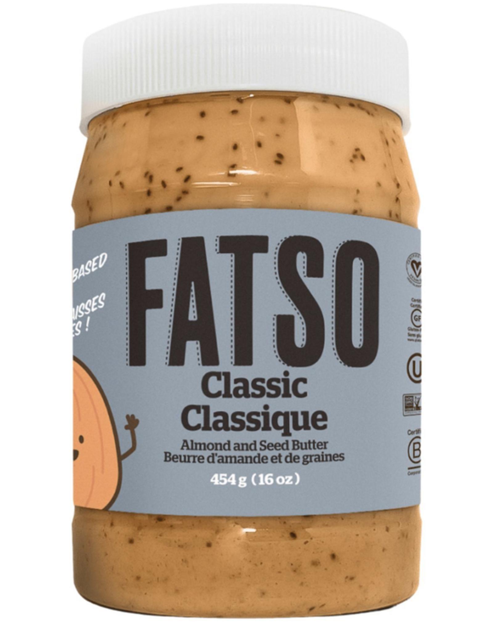 Fatso Fatso - Beurre d'Amandes, Classique (454g)