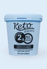 Keto Skream Keto Skream - Dessert Glacé Céto, Vanille (473ml)