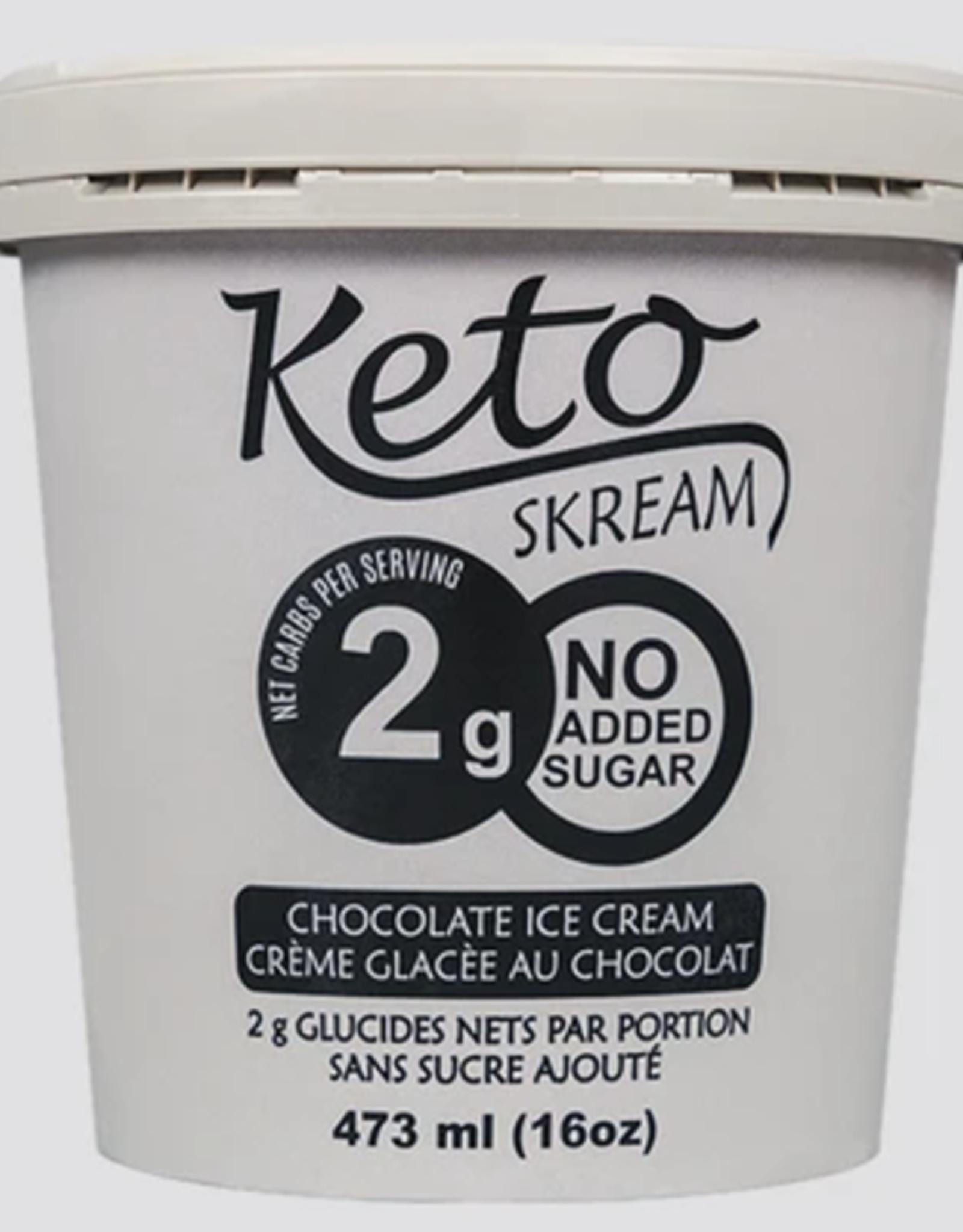 Keto Skream Keto Skream - Dessert Glacé Céto, Chocolat (473ml)