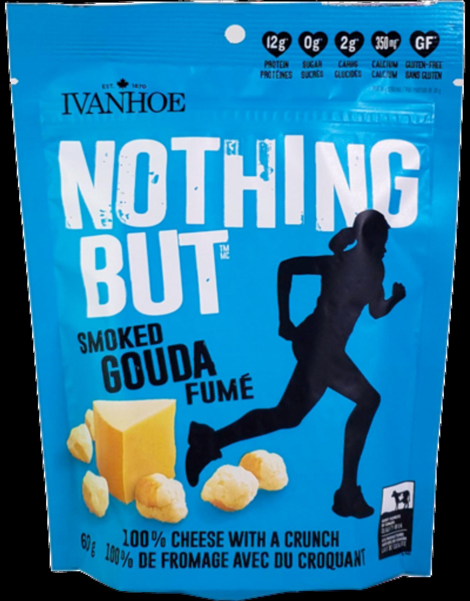 Ivanhoe Ivanhoe - Collation Croquante de Fromage, Gouda Fumé (60g)
