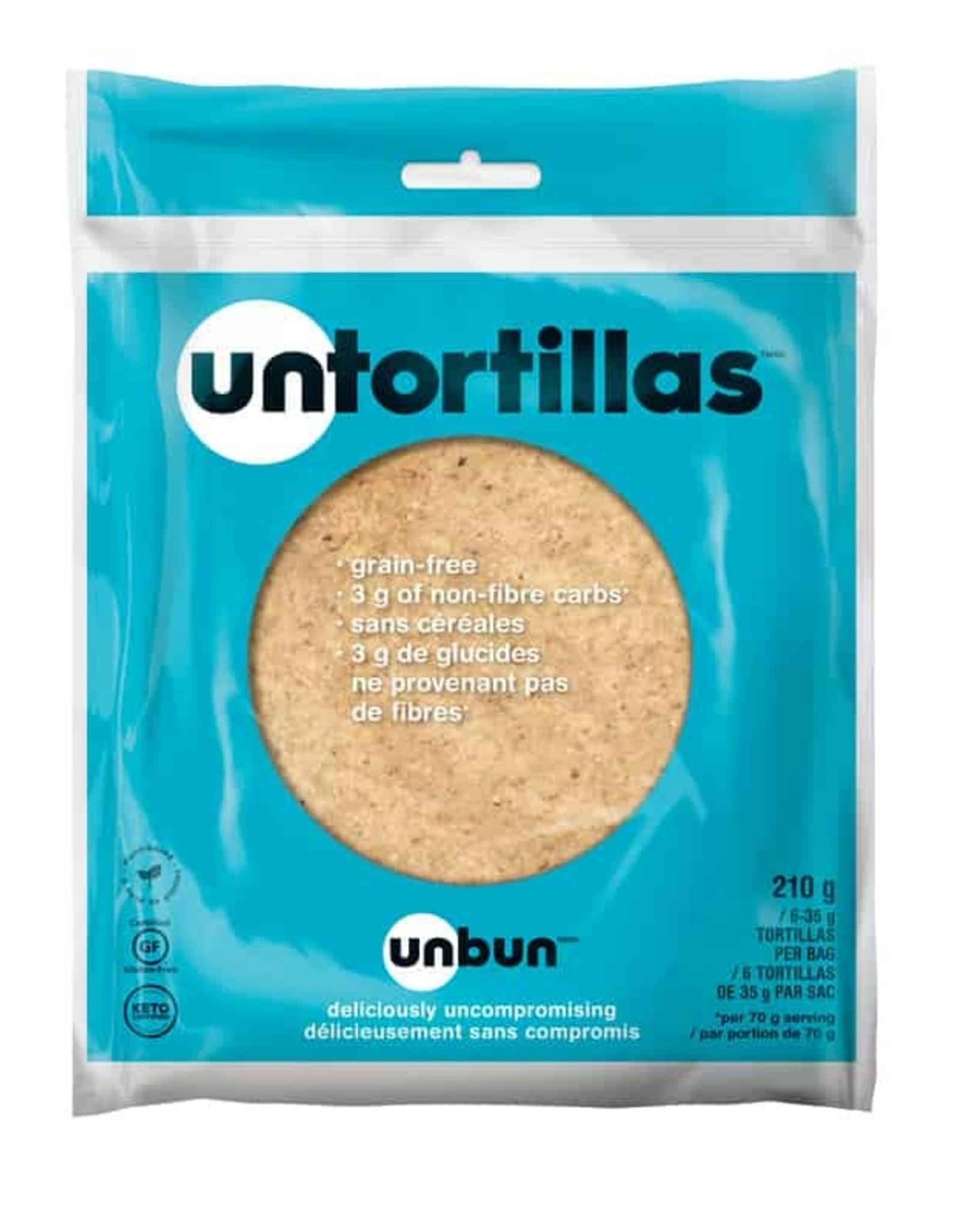 Unbun Unbun - Tortillas, Cétogène (210g)