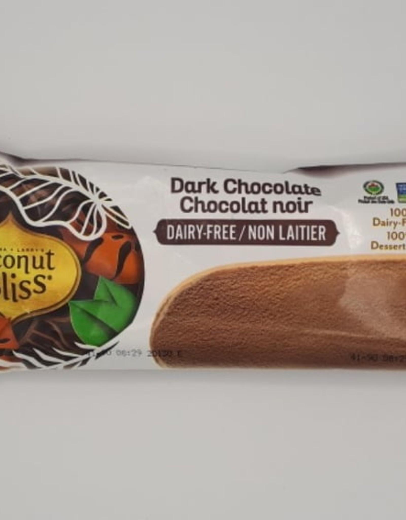 Coconut Bliss Coconut Bliss - Barre Glacée, Chocolat Noir (89ml)