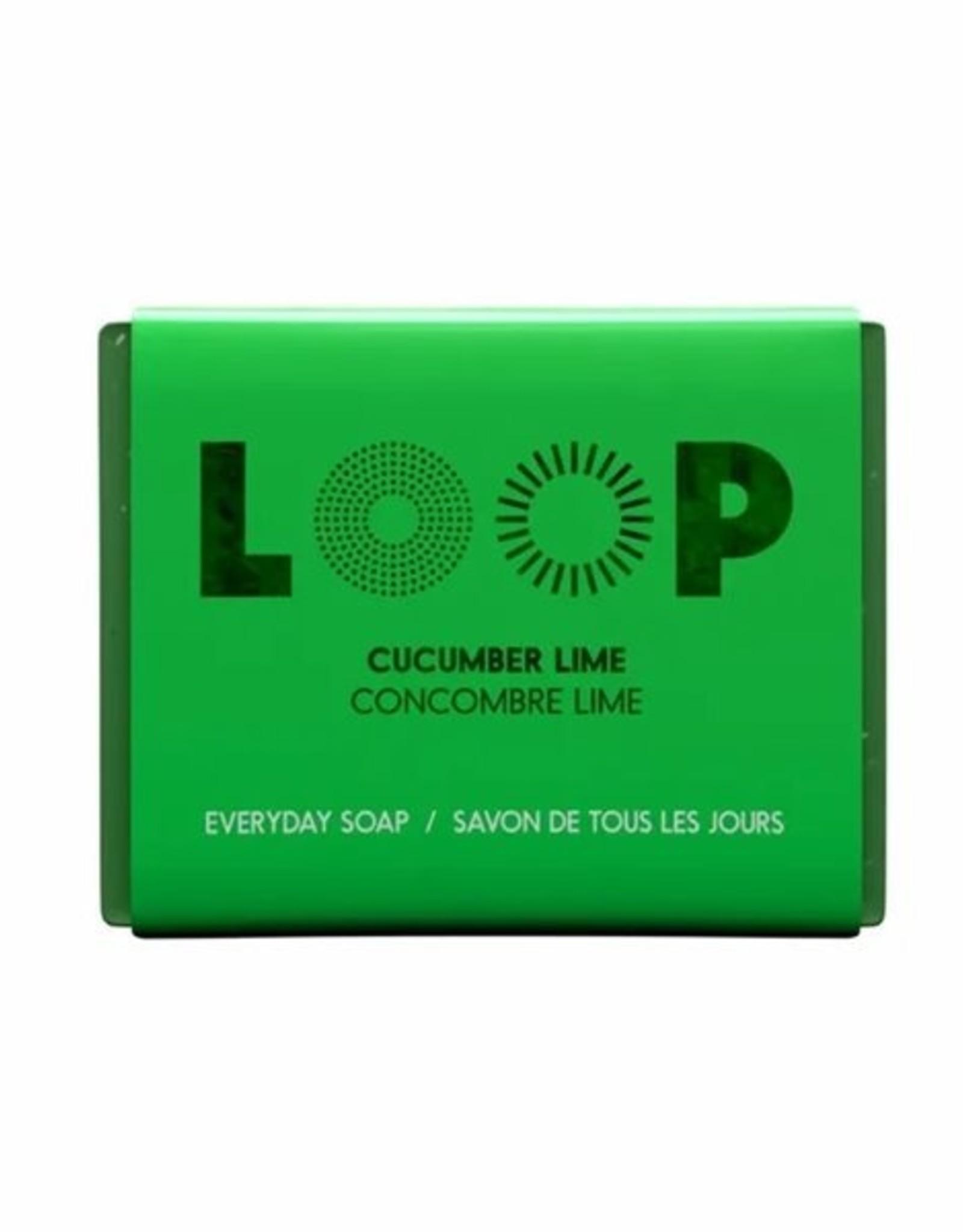 Loop Loop - Savon Écologique, Lime et Concombre (100g)