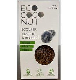 Ecococonut Ecococonut - Éponge à Récurer, Fibres de Noix de Coco (2pc)