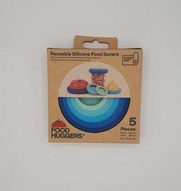 Food Huggers Food Huggers - Emballage à Fruit et Légumes, Bleu (5pc)