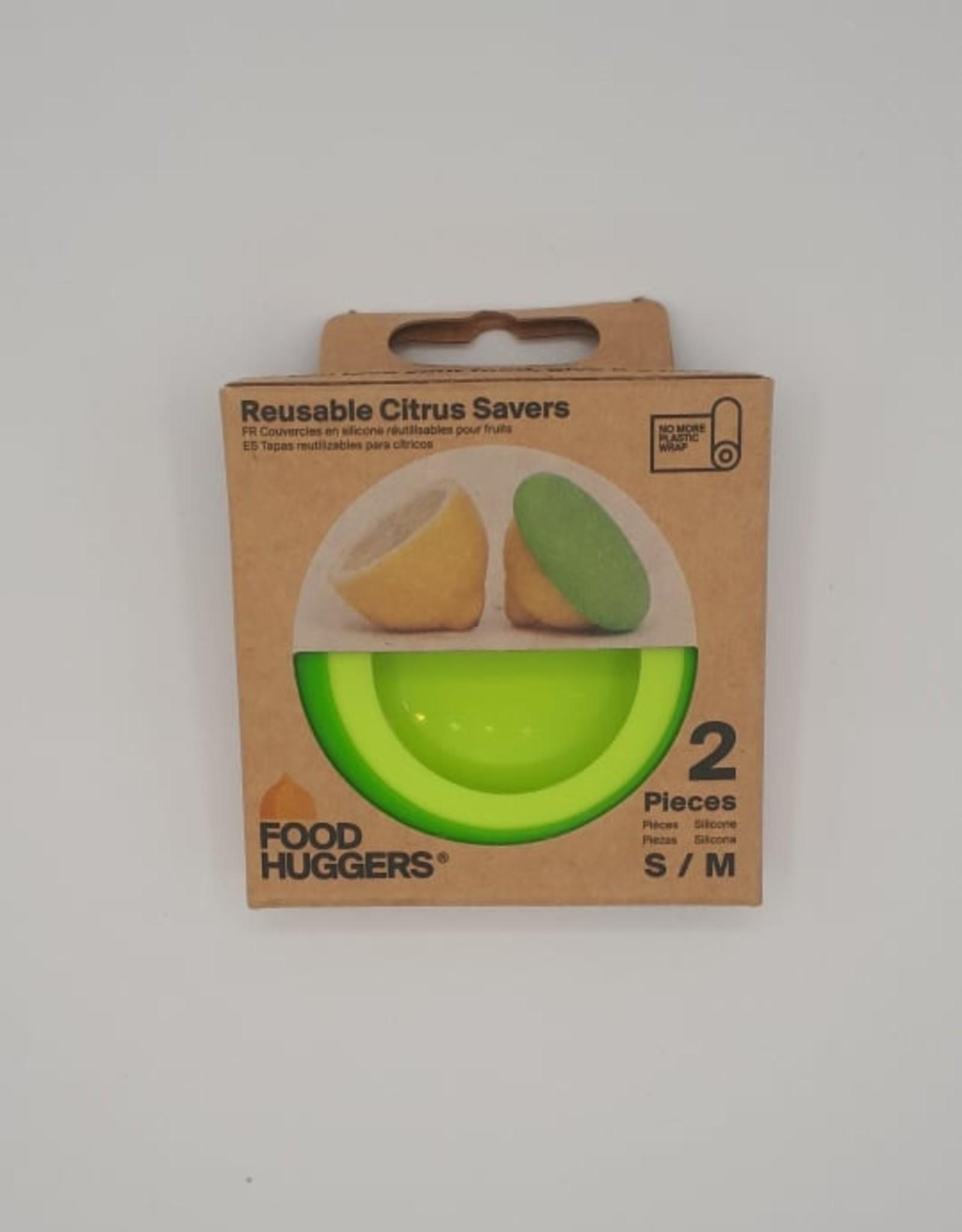 Food Huggers Food Huggers - Emballage à Fruit et Légumes, Citron (2pc)