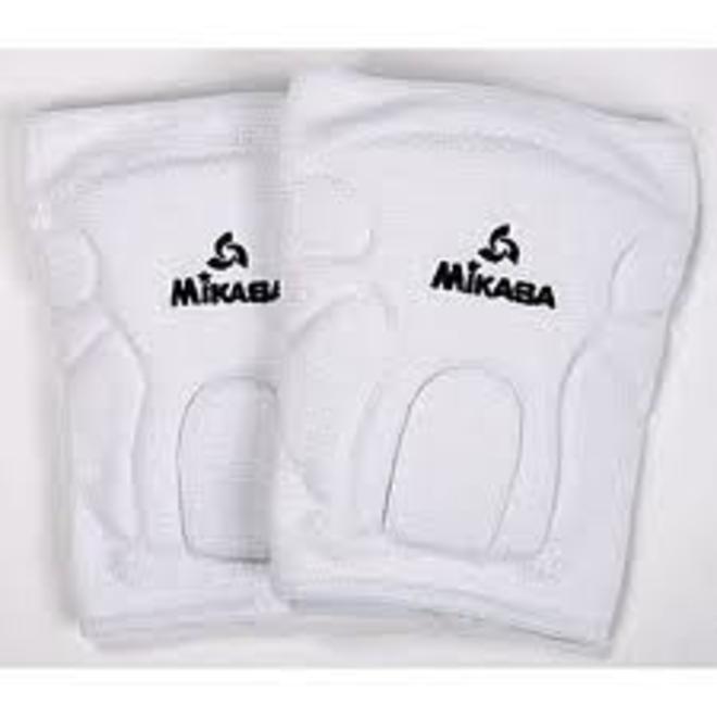 Mikasa Antimicrobial Kneepads - White