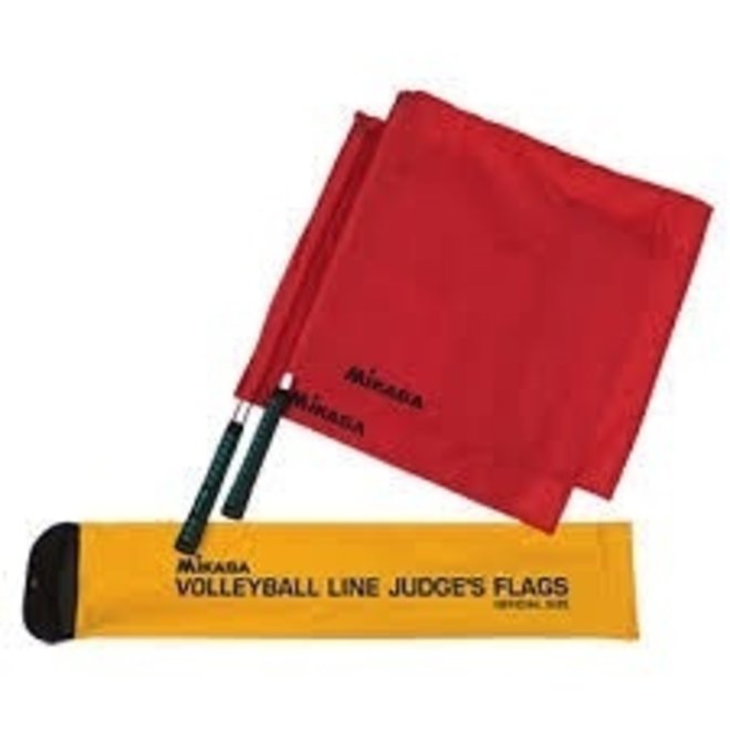 Volleyball Line Judges Premium Flags - Set of 2