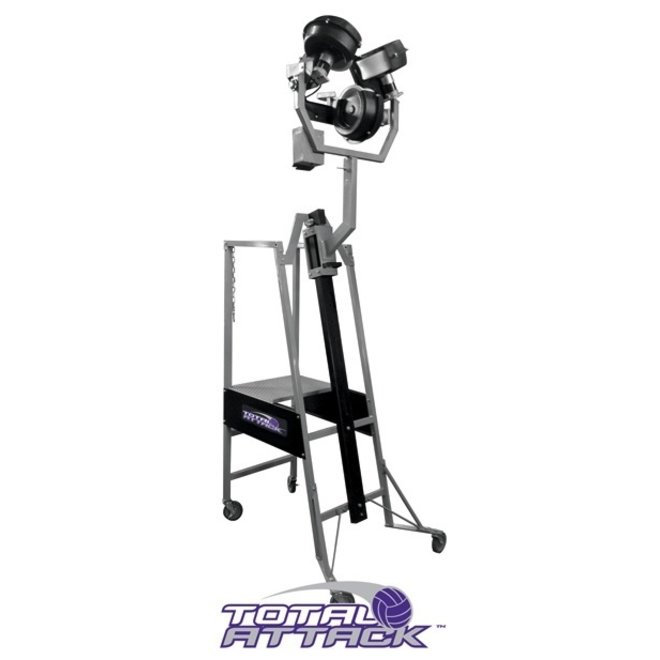 Total Attack Serving and Setting Machine, c/w one ball bag