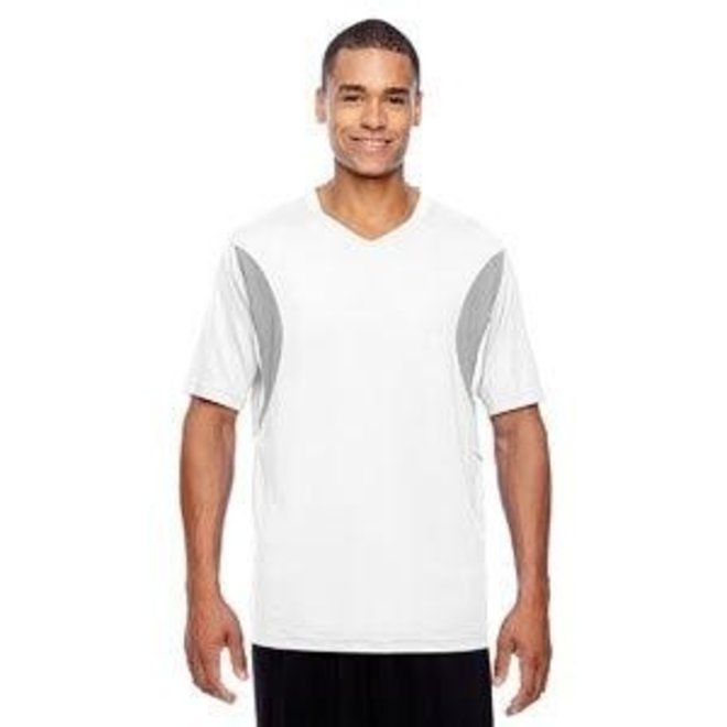 Team 365 Men's Short-Sleeve Athletic V-Neck All Sport Jersey