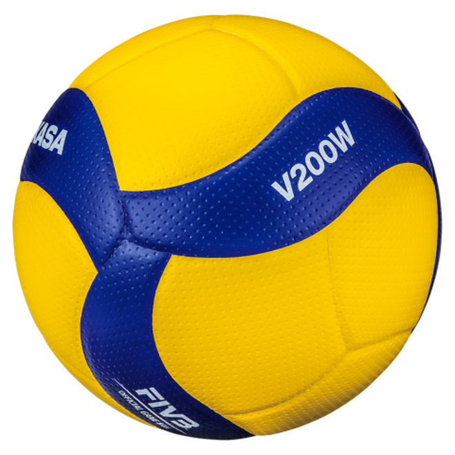 Mikasa Official FIVB Micro-Fibre Indoor Volleyball - Official Size 5