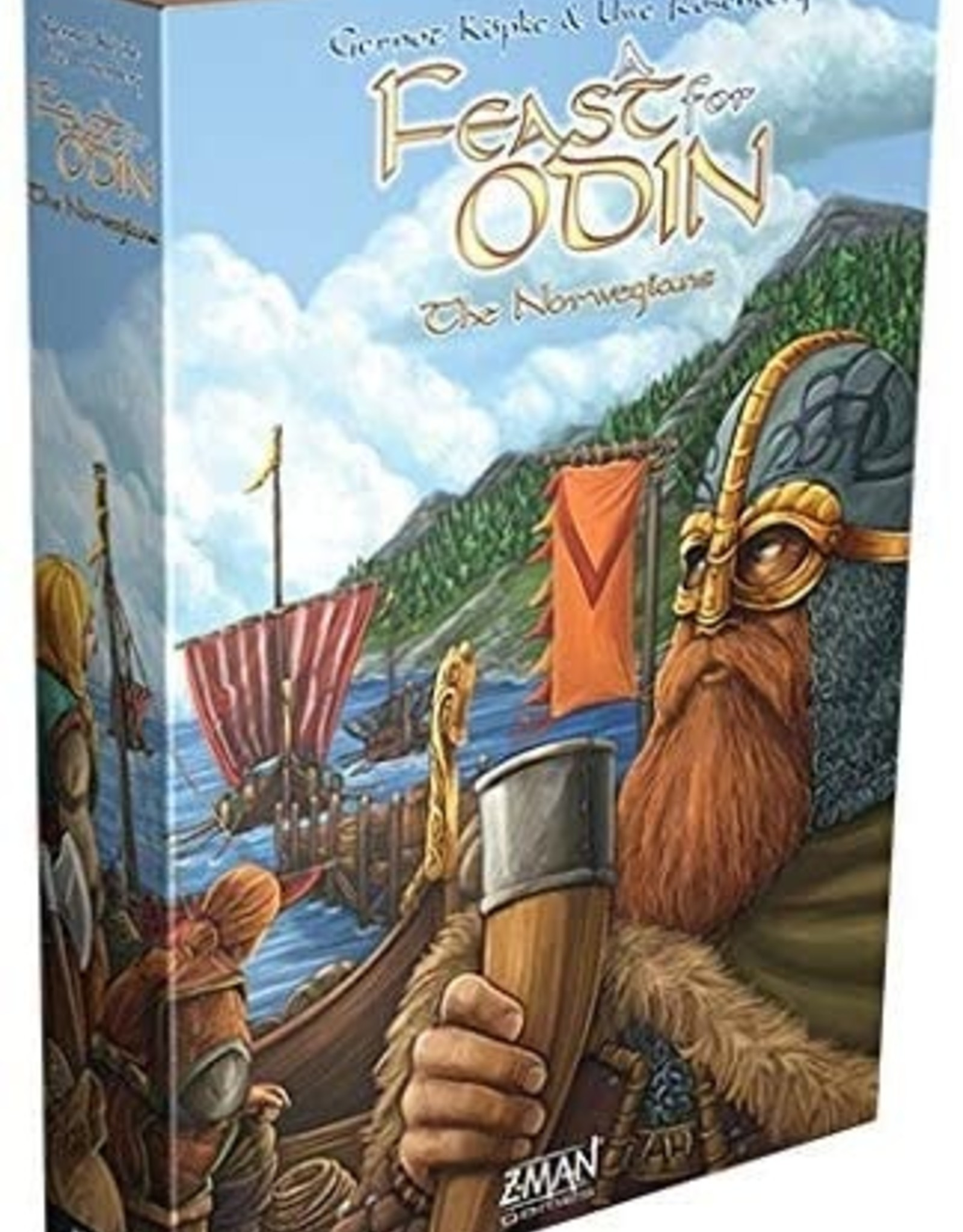 Z-Man Games A Feast For Odin: The Norwegians