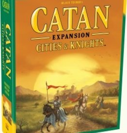 Catan Studio Catan (5th Edition): Expansion Cities & Knights: Scenario - Legend of the Conquerers