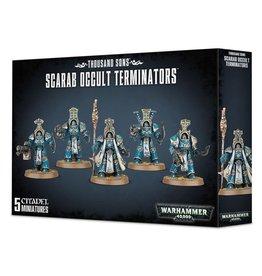 Games Workshop Warhammer 40,000: Thousand Sons: Scarab Occult Terminators