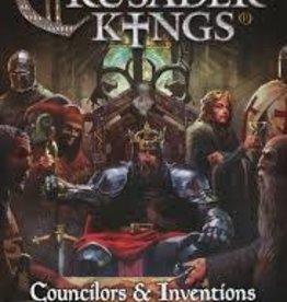 Free League Publishing Crusader Kings: Councilors and Inventions Expansion