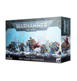 Games Workshop Warhammer 40,000: Space Wolves Wolf Guard Terminators