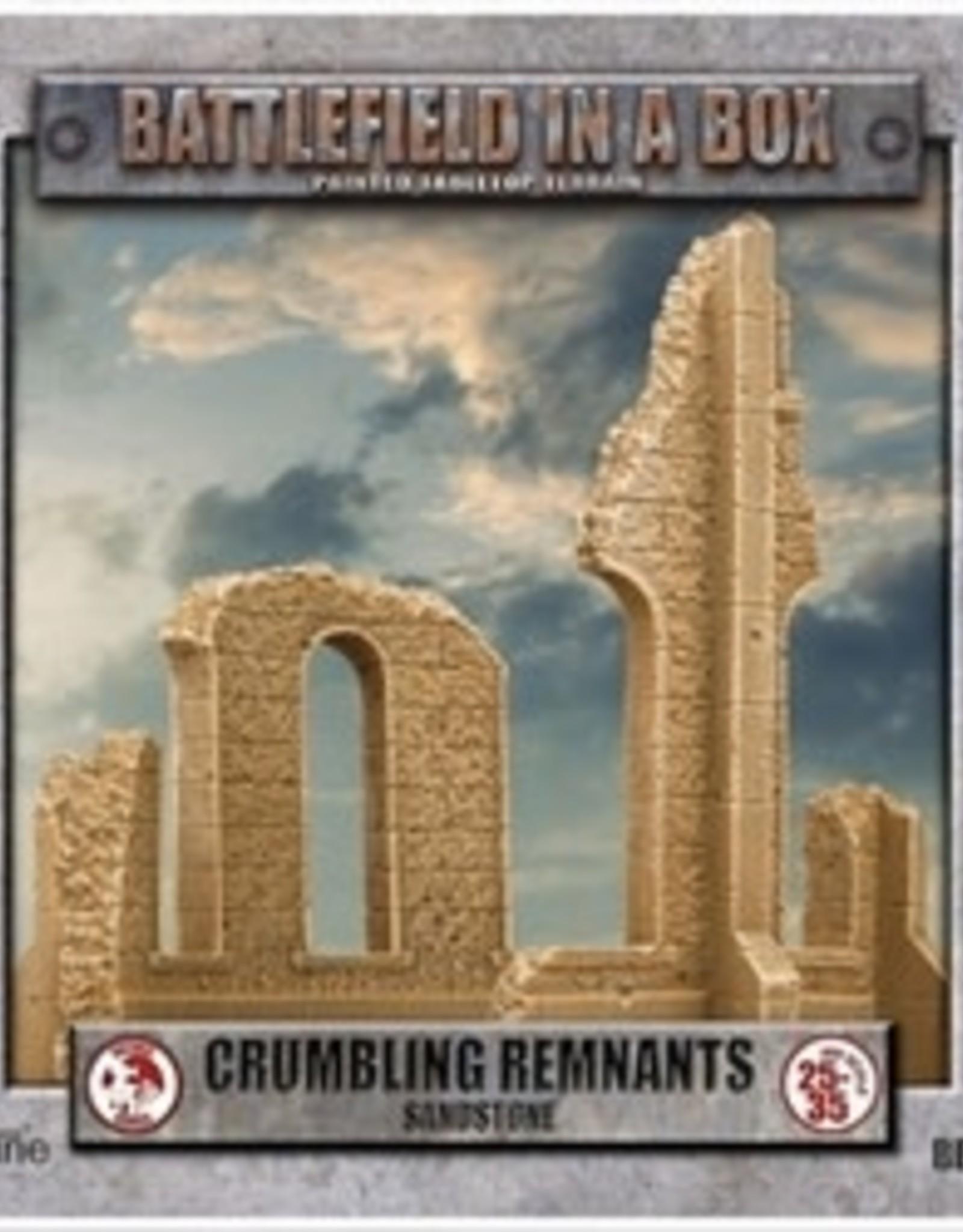 Battlefield in a Box Battlefield in a Box: Sandstone Crumbling Remnants