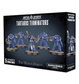 Games Workshop Warhammer 40,000: Space Marines Horus Heresy - Tartaros Terminators