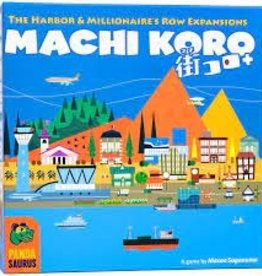 Pandasaurus Games Machi Koro 5th Anniversary Expansion: The Harbour & Millionaires Row Expansions