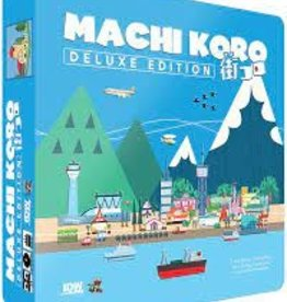 Pandasaurus Games Machi Koro Deluxe Edition