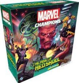 Fantasy Flight Marvel Champions: LCG: The Rise of Red Skull Expansion