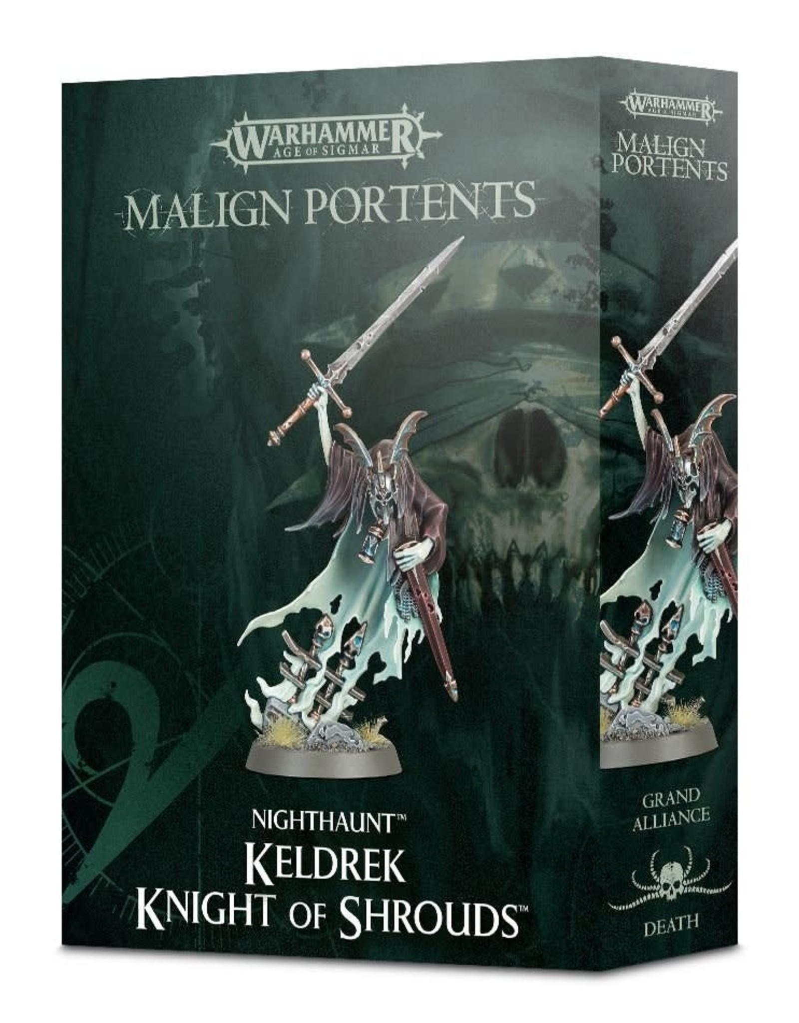 Games Workshop Age of Sigmar: Keldrek: Knight of Shrouds