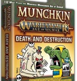 Steve Jackson Games Munchkin Warhammer Age of Sigmar: Death And Destruction