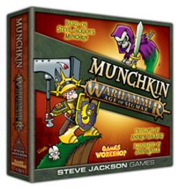 Steve Jackson Games Munchkin: Warhammer Age of Sigmar