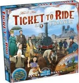Days of Wonder Ticket To Ride: Map Collection #6- France / Old West