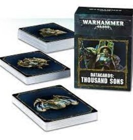 WarHammer Warhammer 40K: Chaos Space Marine Thousand Sons Datacards