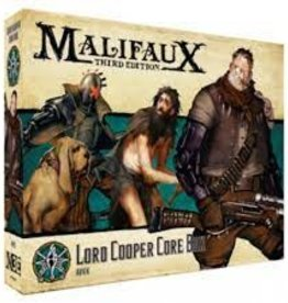 Wyrd Games Malifaux: Explorers Society Lord Cooper Core Box