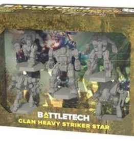 Catalyst Game Labs BattleTech: Clan Heavy Striker Star