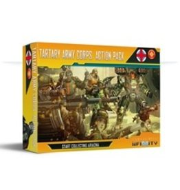 Corvus Belli Infinity Ariadna (#851): Tartary Army Corps Action Pack