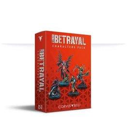 Corvus Belli Infinity Betrayal (#837): Betrayal Characters Pack