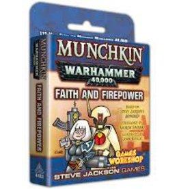 Steve Jackson Games Munchkin: Warhammer 40K - Faith and Firepower