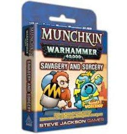 Steve Jackson Games Munchkin: Warhammer 40K- Savagery and Sorcery