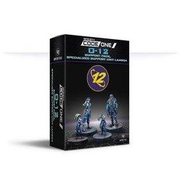 Corvus Belli Infinity: CodeOne: O-12: (#832): Support Pack