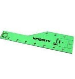 Bandua Bandua Wargames: Infinity Measuring Template - Green