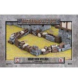Battlefield in a Box Battlefield in a Box: Wartorn Village Barricade