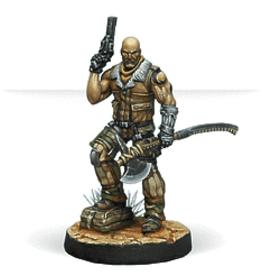 Corvus Belli Infinity Ariadna (#549): Roger Van Zant, CPT. 6th Airborne Ranger