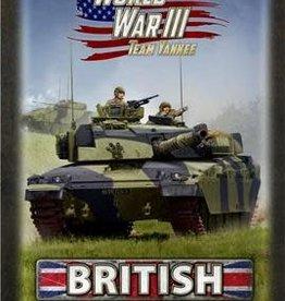 Battlefront Miniatures Team Yankee: British: Gaming Set