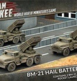 Battlefront Miniatures Team Yankee Soviet: BM-21 Hail Battery