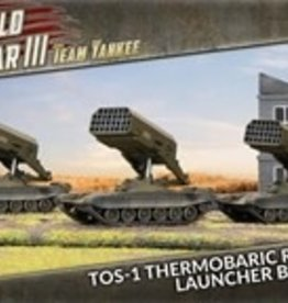 Battlefront Miniatures Team Yankee Soviet: TOS-1 Thermobaric Rocket Launcher Battery
